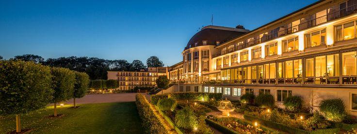 Abendstimmung am Dorint Park Hotel Bremen
