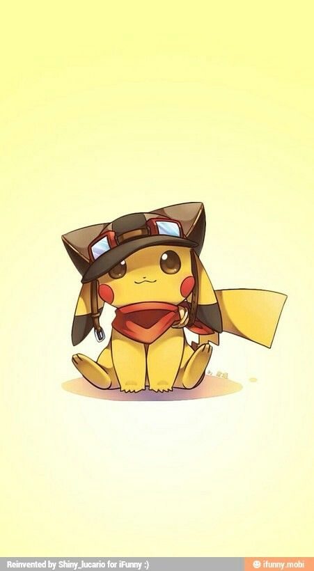 This is the cutest Pikachu I've ever seen