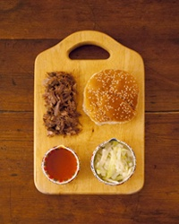 Stately Sandwiches - States identified by their deconstructed sandwiches
