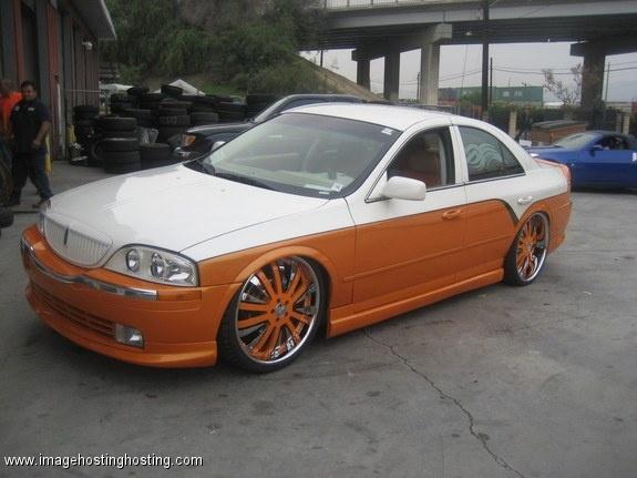 Lincoln Ls Orange and white - tuned