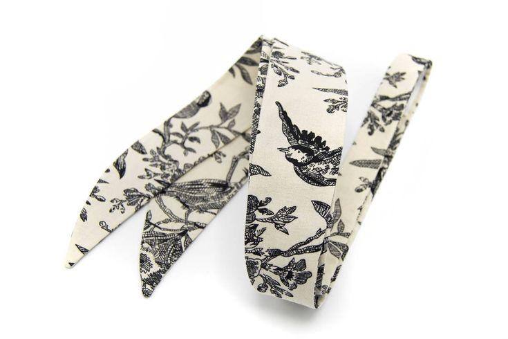Handcfrafted Floral & Birds necktie for women https://www.etsy.com/listing/567559433/handcfrafted-floral-birds-necktie-for?utm_campaign=crowdfire&utm_content=crowdfire&utm_medium=social&utm_source=pinterest