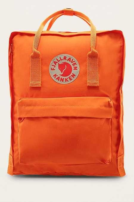 Fjallraven Kanken Burnt Orange Backpack