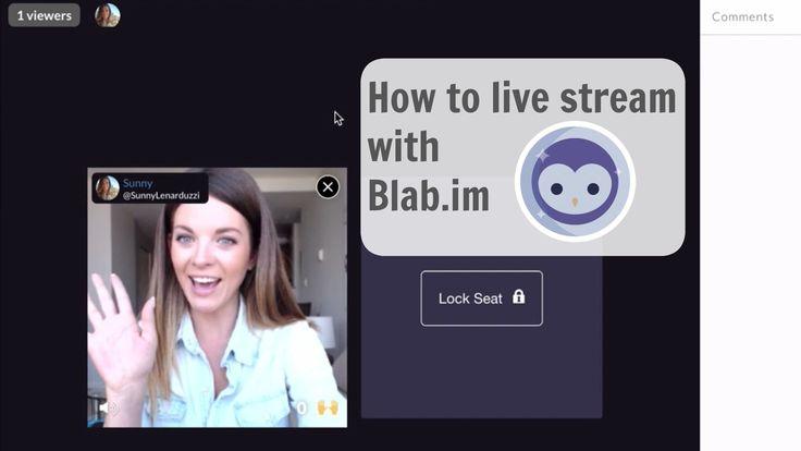 Blab Tutorial - How to Live Stream on Blab.im #Blab #Videos  #LiveStreaming #VideoMarketing