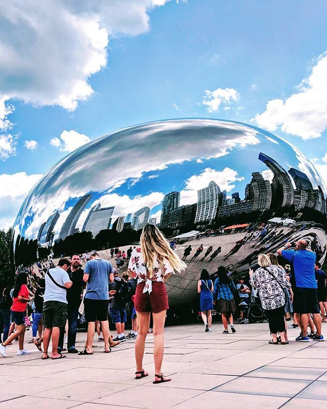 Chicago Where Have You Bean All My Life At Nearly Three Million People Chicago Clocks In As The Third Most Populous City In The City Wonderland Instagram