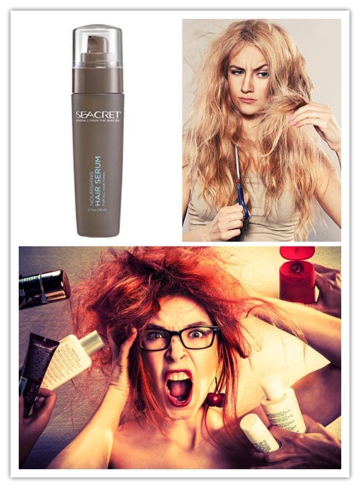Seacret bietet das komplett packet für deine Haare. Für die oben genannten Fakten ist unser Haar Serum = Nourishing Hair Serum Genau richtig👍🏻 1-2 Tropfen in die haarspitzen Kneten reicht schon völlig aus. Das Serum bleibt im Haar und kann somit seine volle Wirkung entfalten. Gerade bei gefärbtem, glanzlosem, oder auch Haar das durch Splis angegriffen ist . Viele unserer Kunden schwören auf das Serum mit Mineralien und Schlamm aus dem toten Meer.