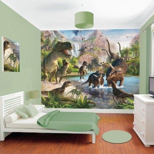 Posterbehang Dinosaurus | Woonaccessoires Webshop: Presents @ Home
