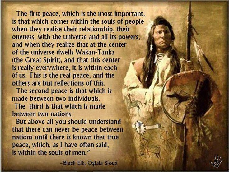 Black Elk, Oglala Sioux, (Shared From Native Spirits Tribal Community, FB)