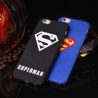 Wish | Fashion Patterns Superman Captan America mate case for iphone 5/5s 6 6s plus hard PC back cover coque fundas for iphone cases