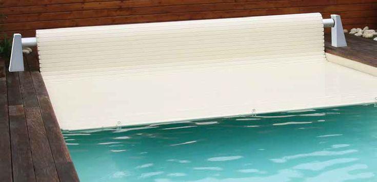 Надводное сматывающее устройство жалюзи, Автоматическое RolleEasy 2, Белые стойки 3,5*12,5 м