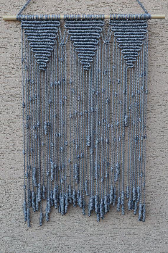 Huis decoratieve Macrame muur opknoping van Mrcolmar op Etsy