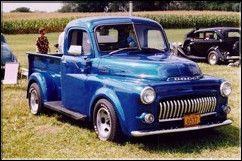 51 Dodge Pickup with modified grill--looks good... SealingsAndExpungements.com... 888-9-EXPUNGE (888-939-7864)... Free evaluations..low money down...Easy payments.. 'Seal past mistakes. Open new opportunities.'