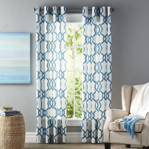 Beachcrest Home Plant City Curtain Panels
