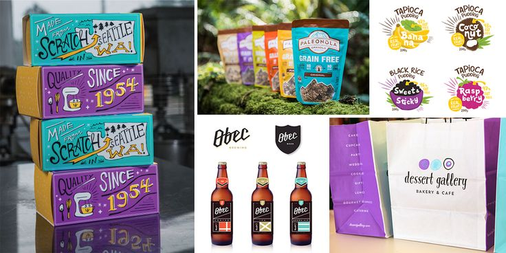 KTOMis a Seattle-based agency led by award-winning illustrator and graphic  designer Kelly Thompson. Brand identities and package design are her  specialty, although she's worked on a wide variety of projects, including  her own venture,Mae James Coffee. For this Studio Spotlight, we take a  closer look at some of the food and beverage designs that Thompson has  developed as KTOM.
