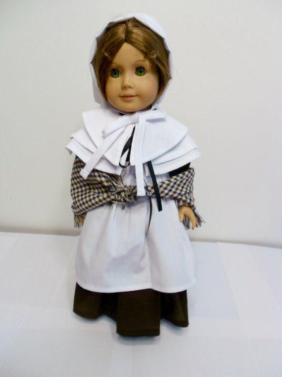 American Girl Pilgrim by DollFashionsbyLinda on Etsy