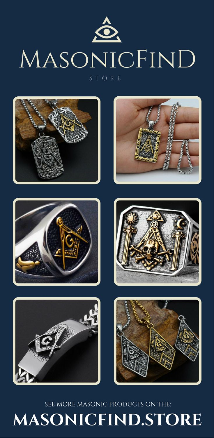 Discover the latest and greatest #Masonic products on our store. ☠️