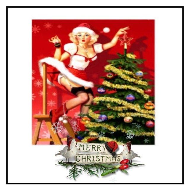 """Merry Christmas 💋❤️❤️"" by christina-63 on Polyvore"