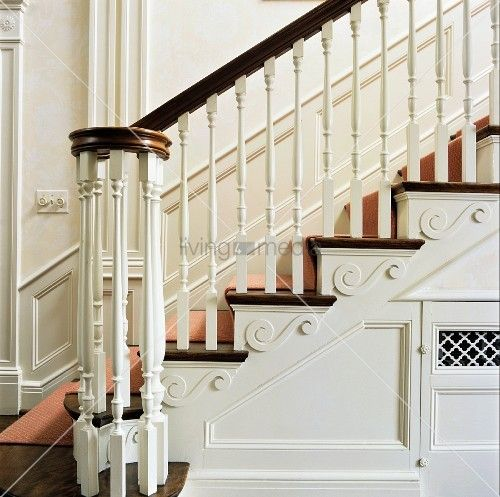 1000 images about georgian staircases on pinterest for Georgian staircase design