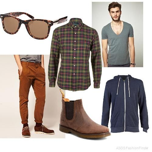 Hipster Man Style | Hipster Men\'s Outfit hipster mens fashion ASOS Fashion Finder