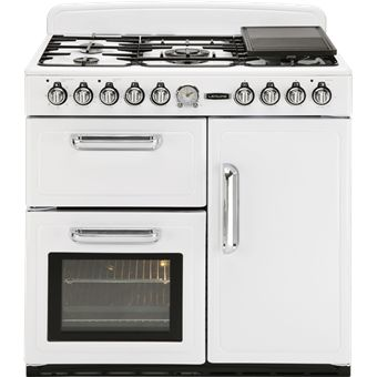 Vintage styled Leisure CMTF99 range cooker in white. £949