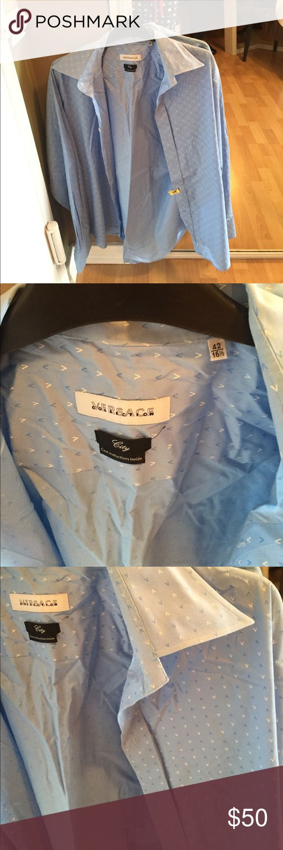 Versace great condition shirt Great condition Versace shirt Versace Shirts Casual Button Down Shirts
