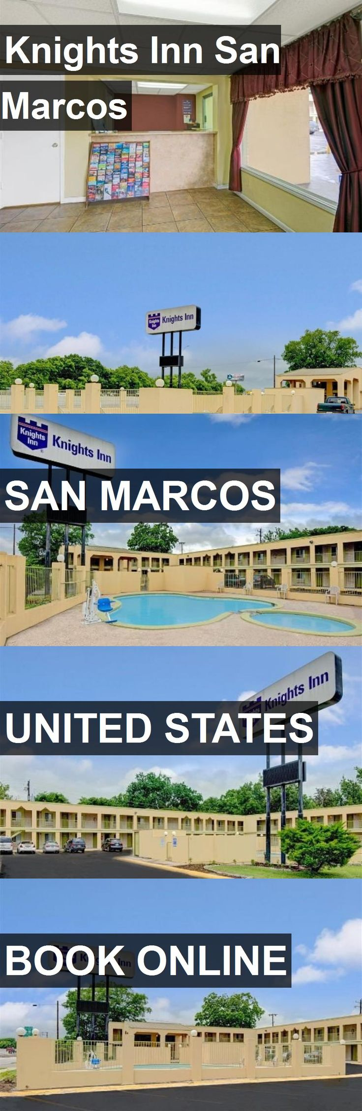 Hotel Knights Inn San Marcos in San Marcos, United States. For more information, photos, reviews and best prices please follow the link. #UnitedStates #SanMarcos #travel #vacation #hotel
