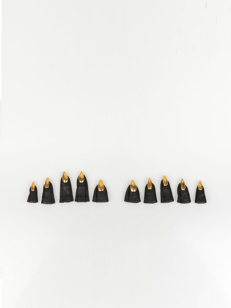 MAJESTY BLACK , Talon Tips Altın #shopigo#shopigono17#womenswear#ss15#madonna#majestyblack