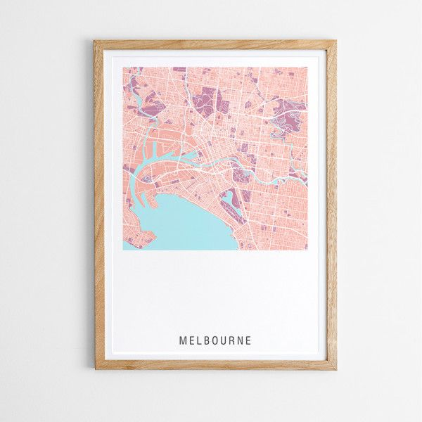 We've designed this map to be contemporary with minimal text so it will work well with current interior trends. This design is suitable for both men and women