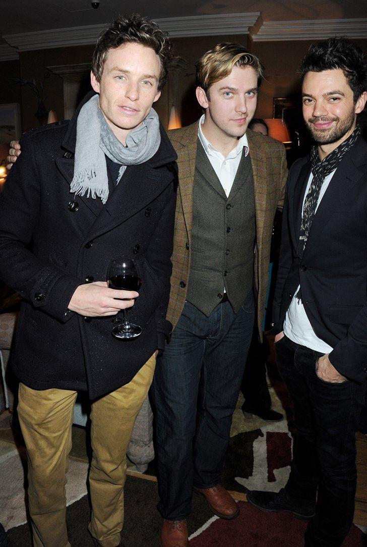 Pin for Later: Quelque Part Entre Downton Abbey et Maintenant, Dan Stevens Est Devenu Vraiment Pas Mal Avec Eddie Redmayne et Dominic Cooper.