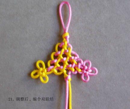 减线盘长(一) - mifor - 兰亭结艺