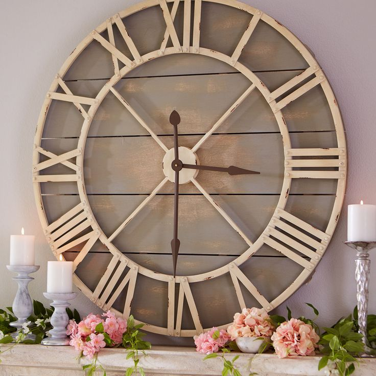 Wall Of Clocks Decor : Best ideas about large decorative wall clocks on