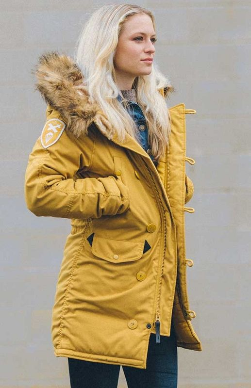 Куртка Altitude #аляска #парка #женская куртка #теплая куртка #девушкам #мода #alpha #usalpha.com