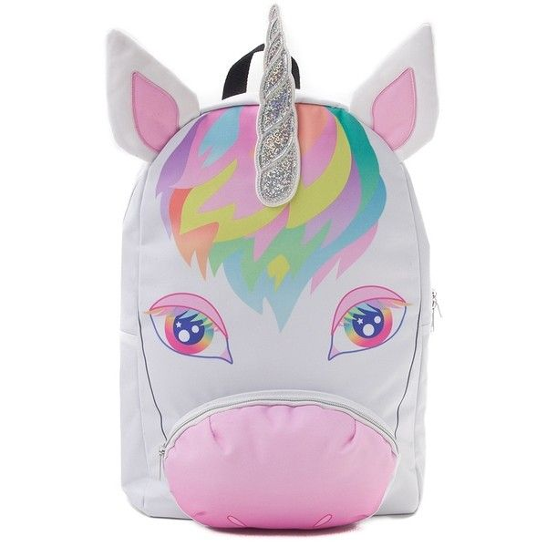 Unicorn Backpack ❤ liked on Polyvore featuring bags, backpacks, padded bag, unicorn backpack, sport bag, backpack sports bag and knapsack bag