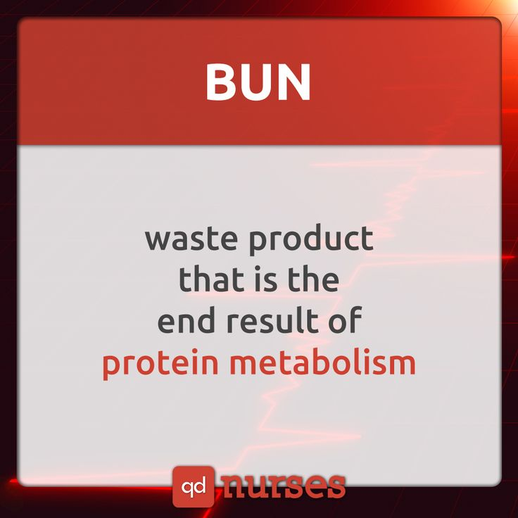 Do NOT get confused between BUN and creatinine. KNOW your BUN values. --- Visit http://qdnurses.com/qdmemes for your daily dose of nursing education!