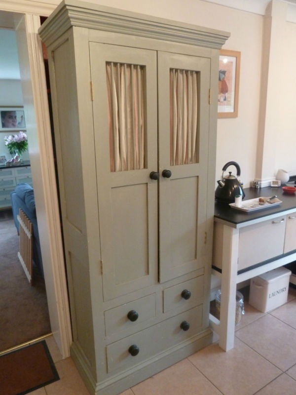 storage  painted in Farrow and Ball Pigeon Grey  eBay Ideas, House
