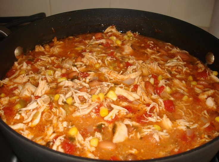 Best Chicken Tortilla Soup  (I'd use black beans instead of pinto beans though)