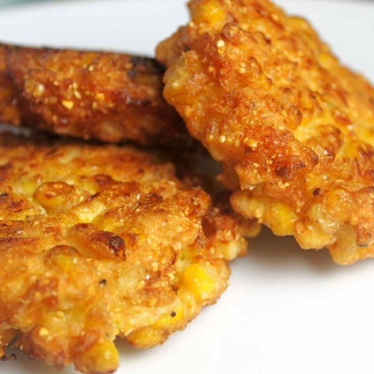 Recipes fried corn cakes