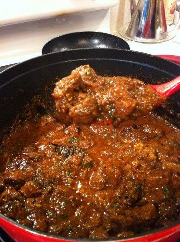 Southern Indian Lamb Stew