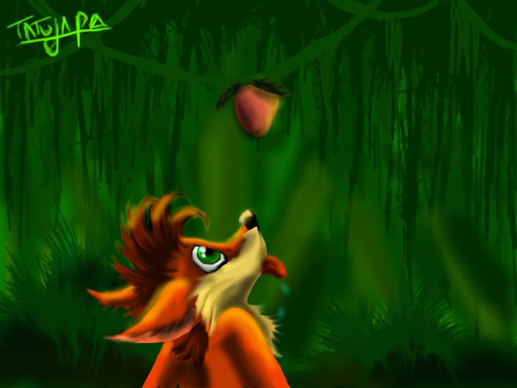 just a drawing of Crash Bandicoot ... made in deviantART muro !!!!