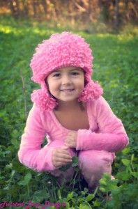 Free Crochet Pattern: Toddler Poodle Hat