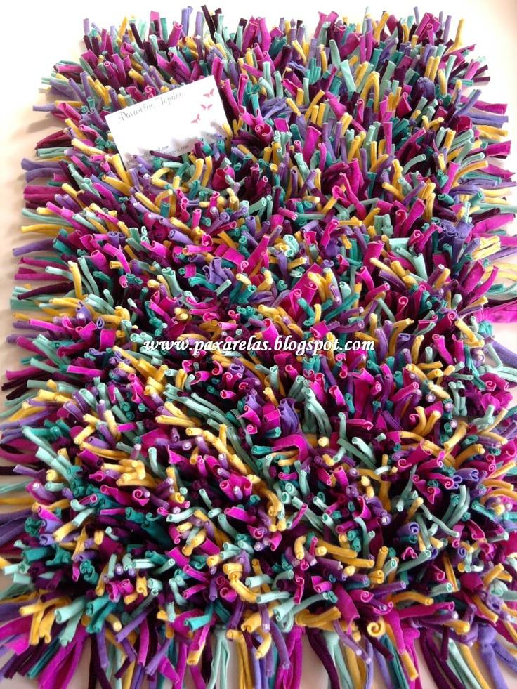 128 mejores im genes de totora crochet en pinterest for Tejidos de alfombras