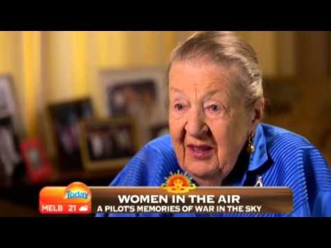 Ruth Adams (nee Russell), Air Transport Auxiliary (ATA), Australia Anzac Day 2013 - YouTube