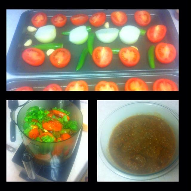 Roasted Yellow Tomato Salsa Recipe With Cilantro Recipe — Dishmaps