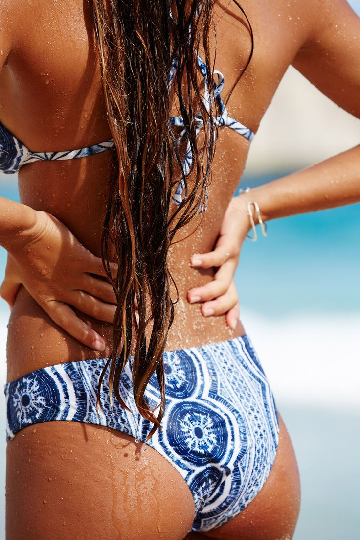 Sun, sand, salt and the Visual Touch Bikini