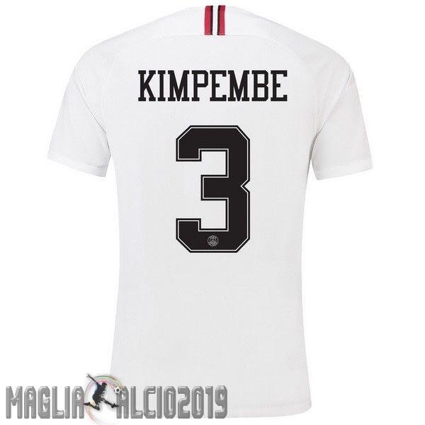 Completi Calcio In Offerta JORDAN NO.3 Kimpembe Terza Away Maglia ...