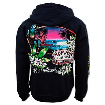 Ron Jon Unisex Paradise Surf Hoodie - Men, Apparel, Ron Jon Fleece and Outerwear, Hoodies, Pullovers | Ron Jon Surf Shop