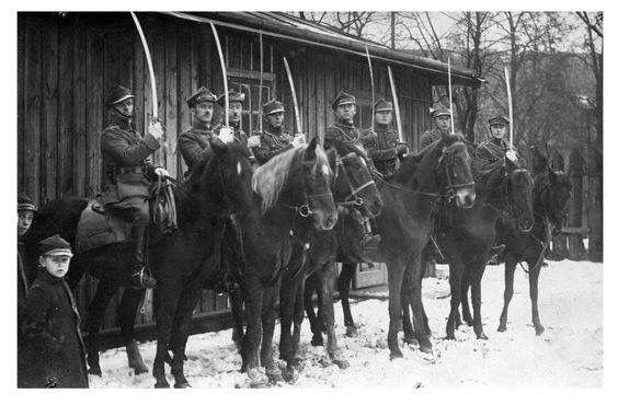 Hussars of the Czech Legion in Siberia 1919
