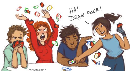Thorne, Scarlet, Wolf, & Cinder by MarianaDoodles97 on tumblr