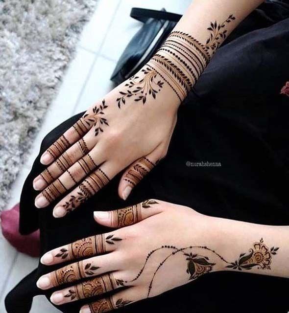 صور نقش الحناء Pretty Henna Designs Beautiful Henna Designs Mehndi Designs
