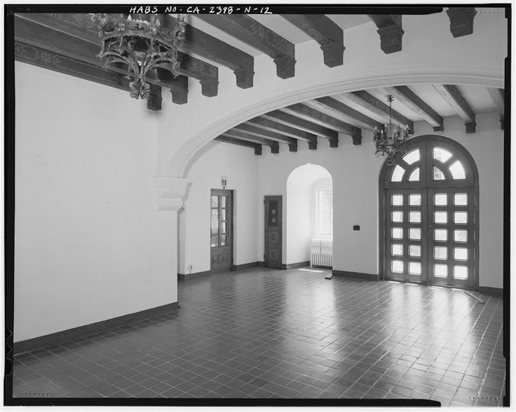 Hamilton Field HQ lobby - Spanish Colonial Revival architecture - Wikipedia, the free encyclopedia