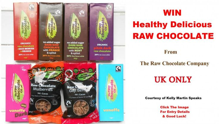 WIN Raw Chocolate Goodies from The Raw Chocolate Company (UK ONLY)  #WIN #GIVEAWAY #PRIZE #COMPETITION